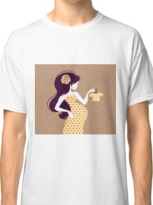 Beautiful pregnant woman #18 Classic T-Shirt