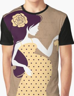 Beautiful pregnant woman #18 Graphic T-Shirt