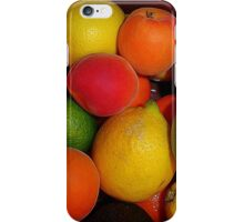 Christmas Fruit 2015 iPhone Case/Skin