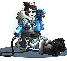 Overwatch - Mei  by Flooter