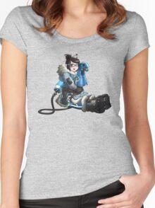 Overwatch - Mei  Women's Fitted Scoop T-Shirt
