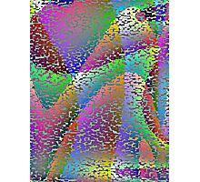 Sycamore Plane or Harewood Qbit Tiles  Photographic Print