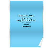 Luna quote Poster