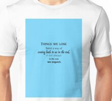 Luna quote Unisex T-Shirt