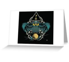Owl Key Greeting Card