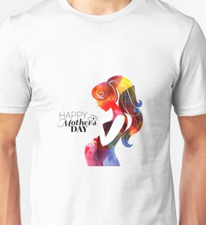 Beautiful pregnant woman #22 Unisex T-Shirt