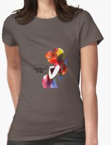 Beautiful pregnant woman #22 Womens Fitted T-Shirt
