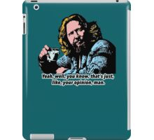 The Big Lebowski and Philosophy 1 iPad Case/Skin