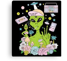 Alien Paradise Canvas Print