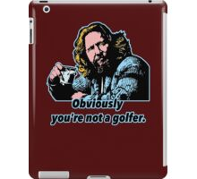 Big Lebowski Philosophy iPad Case/Skin