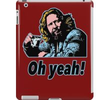 Big Lebowski Philosophy 4 iPad Case/Skin