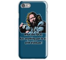Big ebowski Philosophy 9 iPhone Case/Skin