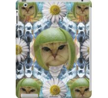 infinity lime cat iPad Case/Skin
