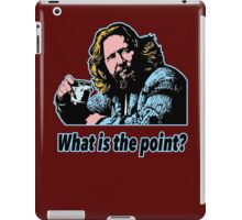 Big Lebowski Philosophy 14 iPad Case/Skin