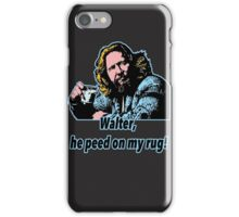 Big lebowski 15 iPhone Case/Skin