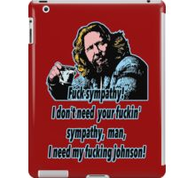 Big Lebowski Philosophy 17 iPad Case/Skin