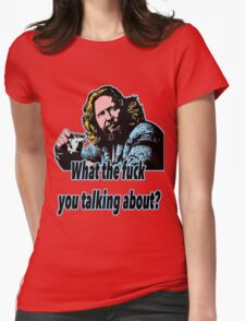 Big Lebowski Philosophy 21 Womens Fitted T-Shirt