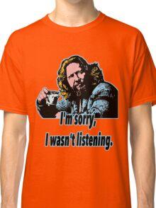 Big Lebowski Philosophy 28 Classic T-Shirt