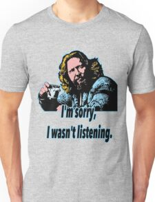 Big Lebowski Philosophy 28 Unisex T-Shirt