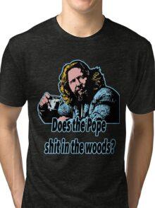 Big Lebowski Philosophy 31 Tri-blend T-Shirt