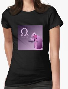 PINK OMEGA Womens Fitted T-Shirt