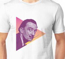 Salvador Dali High Poly Portrait Unisex T-Shirt