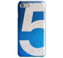 Fiv... iPhone Case/Skin