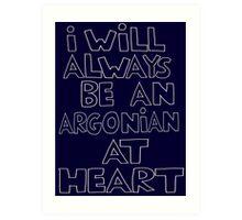 I'm an Argonian Art Print