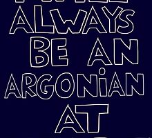 I'm an Argonian by PandaPandaBear