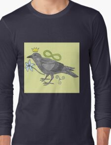 Crowns and Birds, Swords and Things Long Sleeve T-Shirt