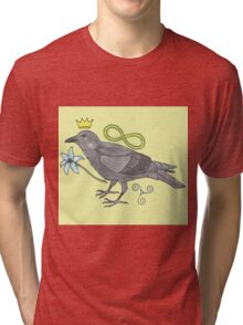 Crowns and Birds, Swords and Things Tri-blend T-Shirt