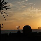 Sun sets in Sardinia by CiaoBella