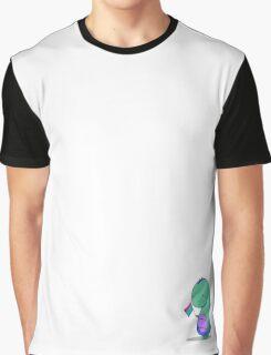 Polysexual Pride Dino Graphic T-Shirt