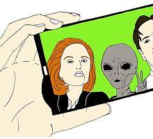 Alien Selfie by BeyondThePale7