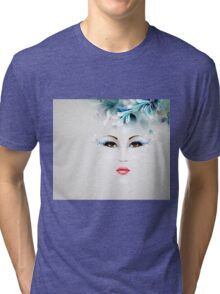 Winter woman #1 Tri-blend T-Shirt