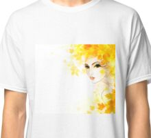 Winter woman #2 Classic T-Shirt