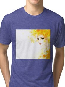 Winter woman #2 Tri-blend T-Shirt