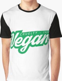 Cruelty-Free Vegan Logo Graphic T-Shirt