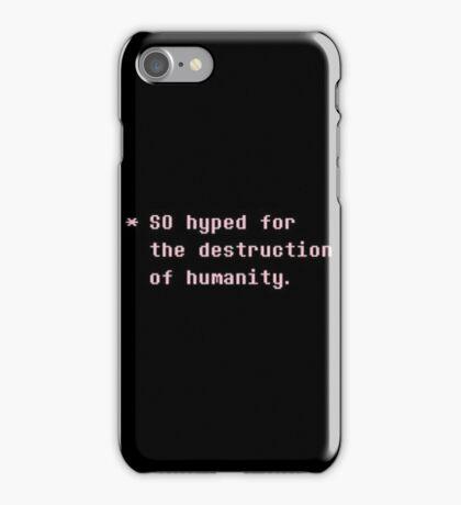 Undertale 11 iPhone Case/Skin