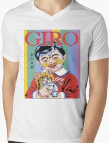 GIRO Mens V-Neck T-Shirt