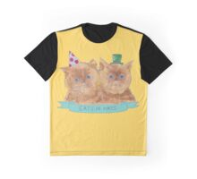 Cats In Hats Graphic T-Shirt