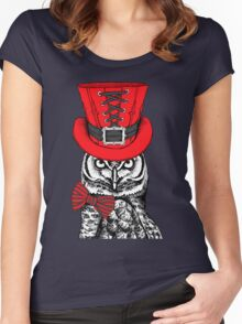 owl #5 Women's Fitted Scoop T-Shirt