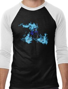 Blue Chandra Magic Men's Baseball ¾ T-Shirt