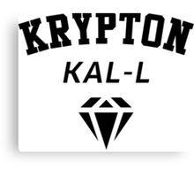 Krypton Kal-L Canvas Print