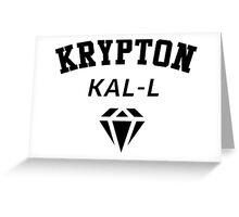 Krypton Kal-L Greeting Card