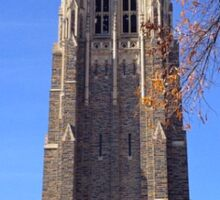 Duke Chapel Blue Sky Sticker