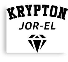 Krypton Jor-EL Canvas Print