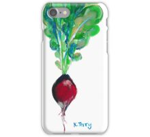 Ode to the Vegetable: Radish iPhone Case/Skin