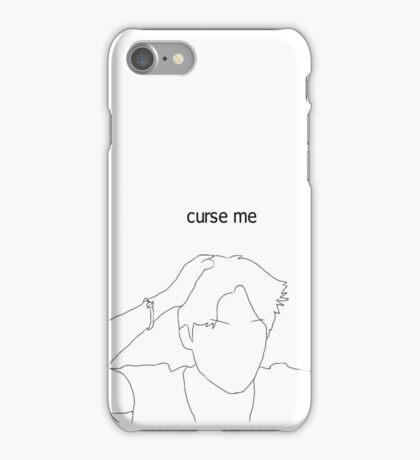 BTS Jimin - RUN phonecase/sticker WHITE iPhone Case/Skin