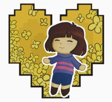 Frisk in Golden Flowers Baby Tee